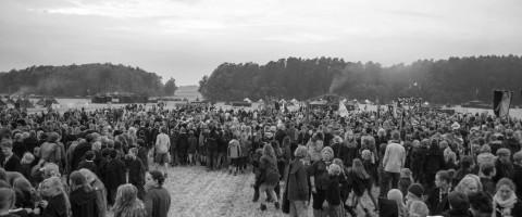 Die Masse spaltet sich zur Wanderung