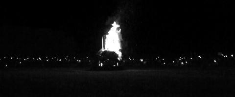 Ein brennendes Zeichen