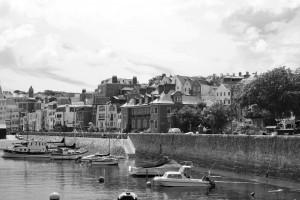 Am Port von Guernsey