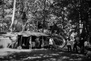 Auf der Grünungsfeier vom Stamm Monte Veritá