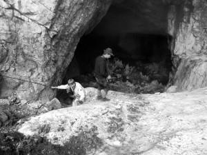 In der Eishöhle