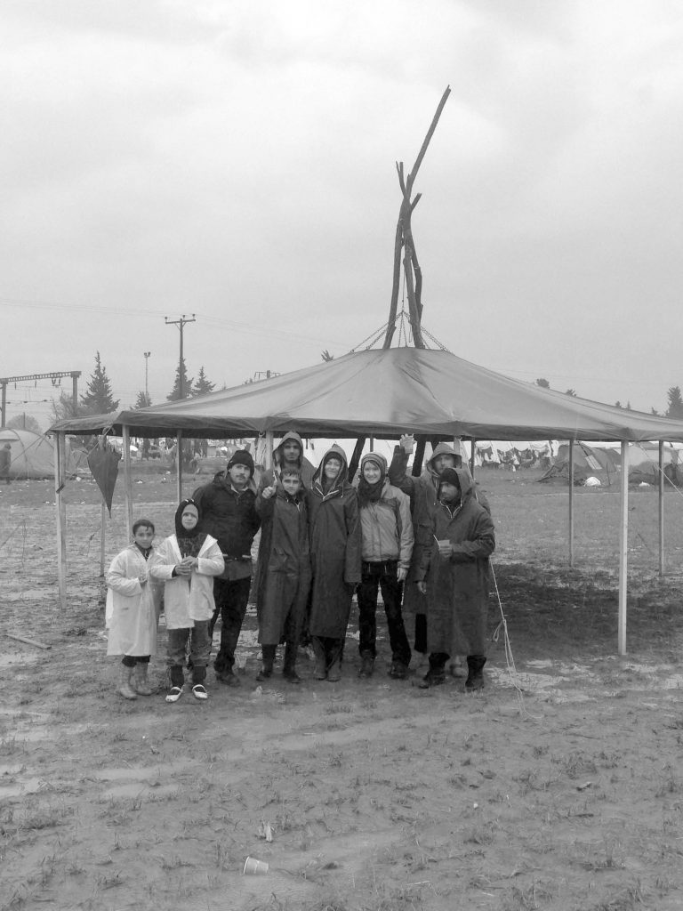 Voluntiere in Idomeni